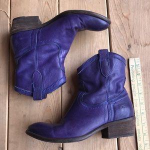 Purple Frye Boots
